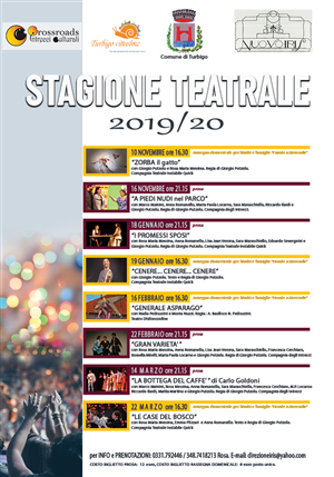STAGIONE TEATRALE 2019/2020
